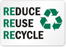 redue reuse recycle