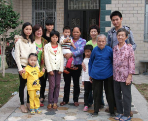 Asian Large Family 6
